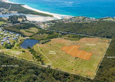 The Lakes Dolphin Point Residential Subdivision Stages 7 - 11